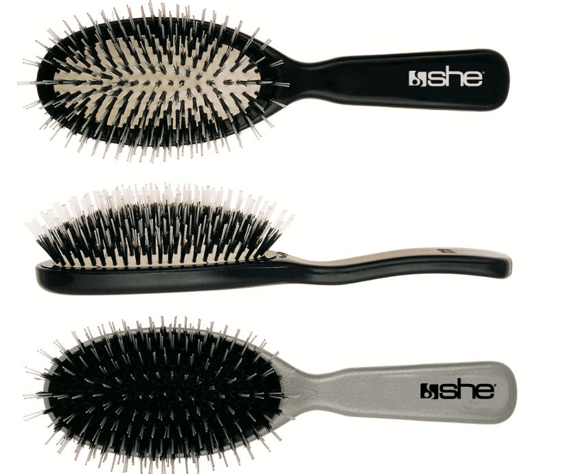 brosse pour extensions de cheveux