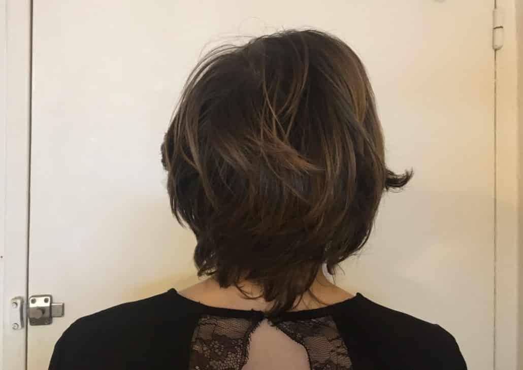 taille pour extension sur cheveux courts