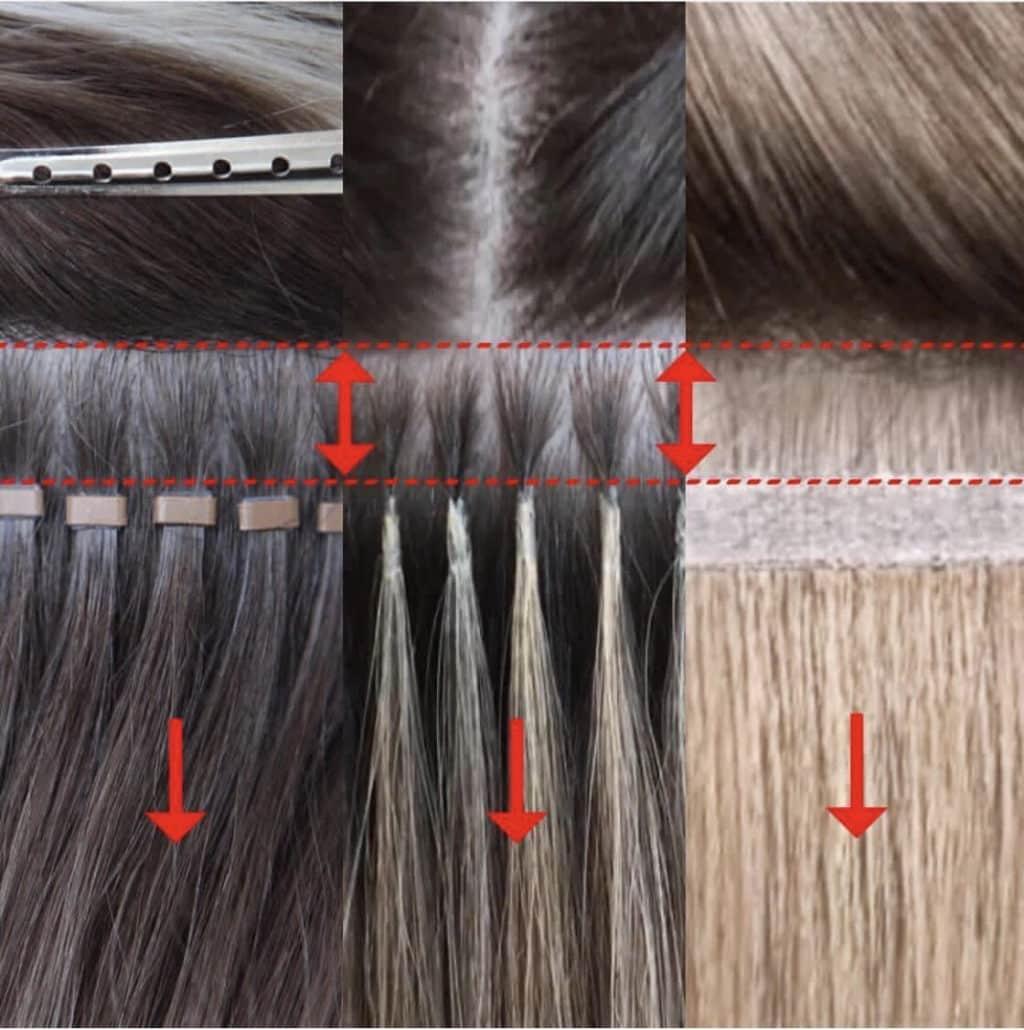 Comment poser des extensions de cheveux