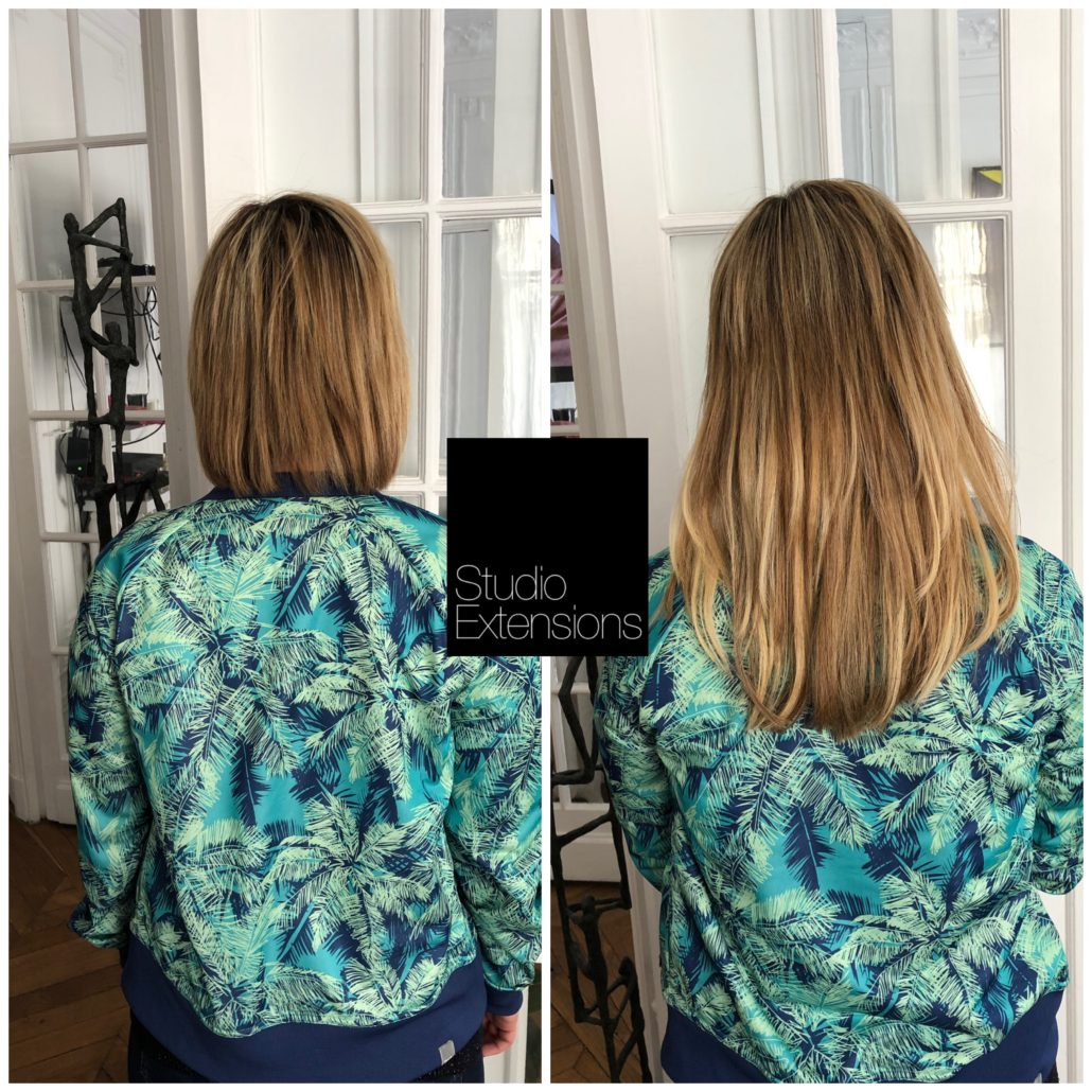 Pose de 125 extensions ultrason Great Lengths
