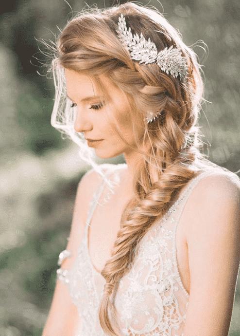 Coiffure de marié tresse