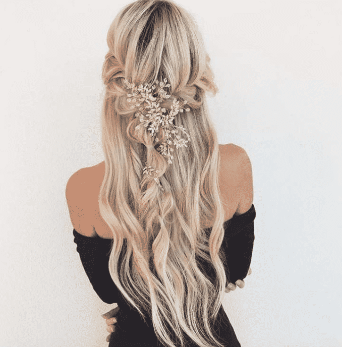 Extensions cheveux mariage