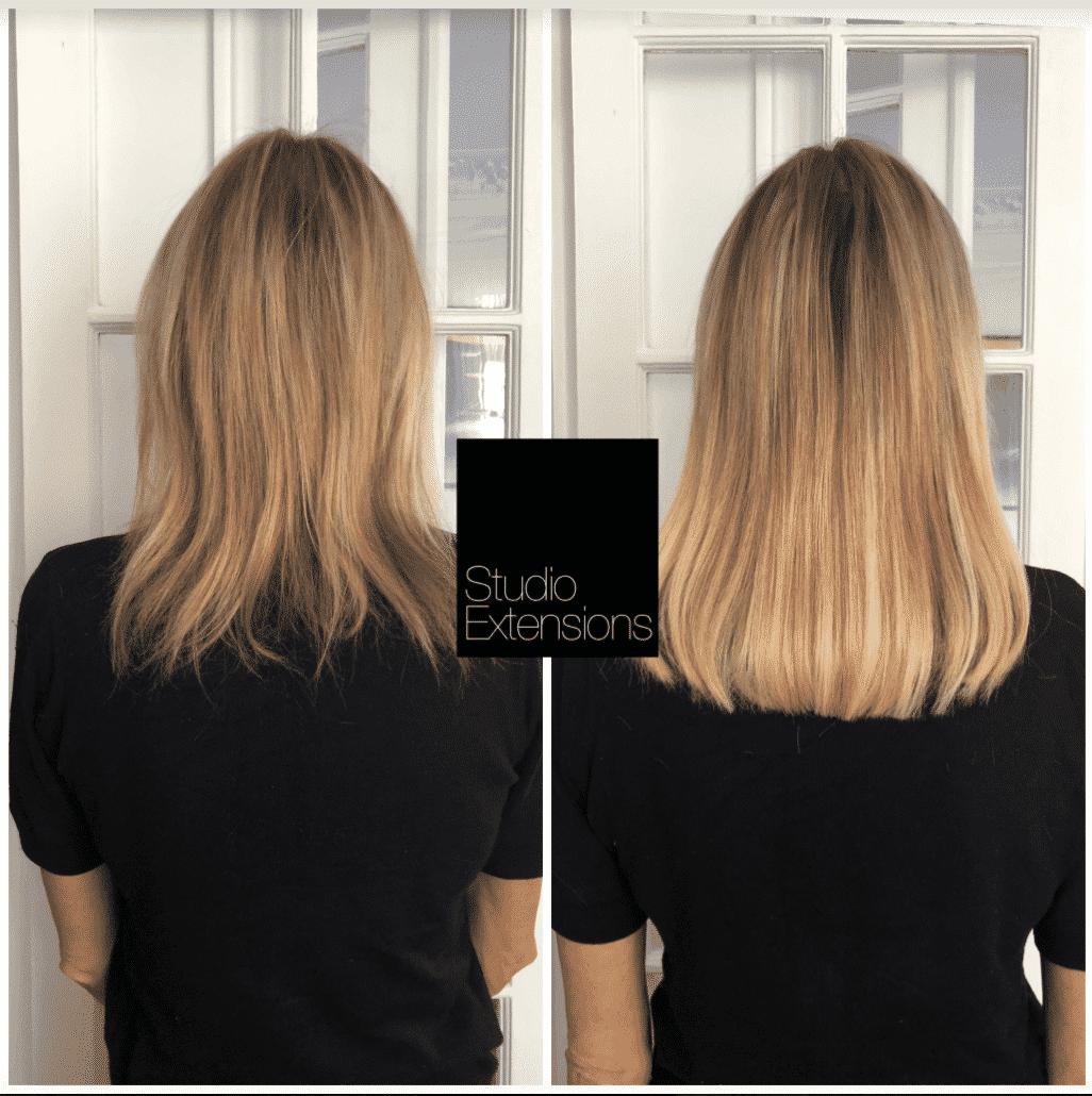 Extensions cheveux fins