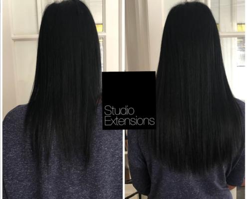 avant après extensions cheveux fins